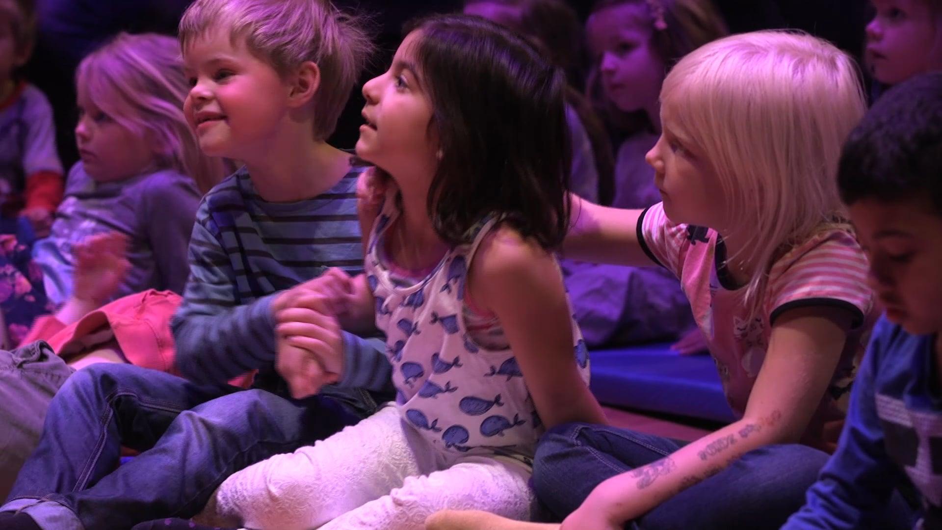 högkvalitativa inspelningar för barn och unga: reportage