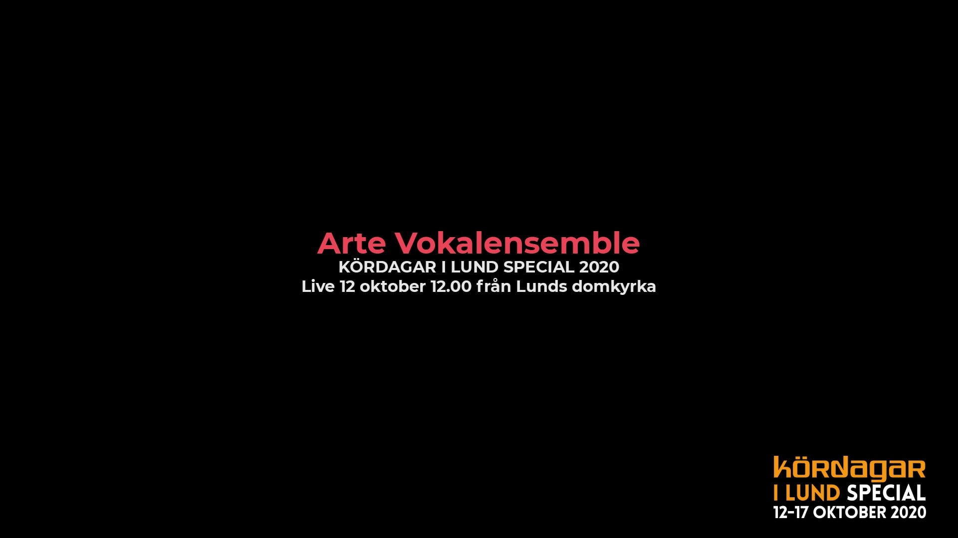 lund choral festival - arte vokalensemble