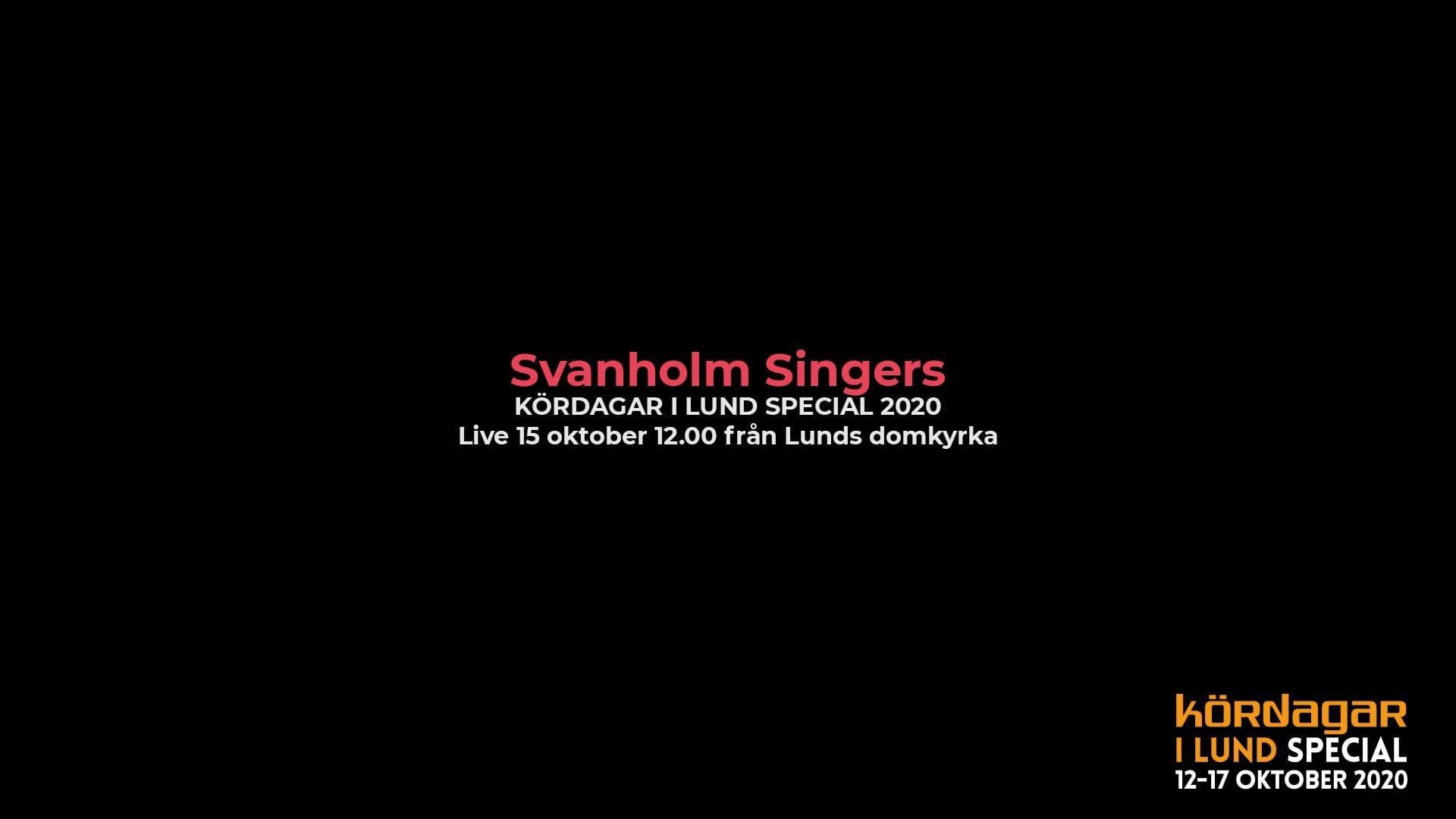 lund choral festival - svanholm singers